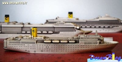 La flotta Costa da esibire. Piccole navi, grandi ricordi.
