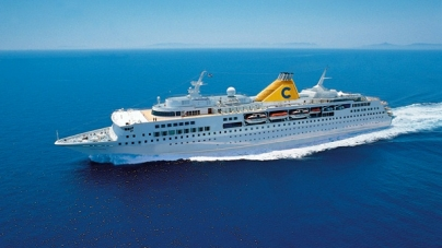 "Costa Voyager entra nella flotta ""C""."