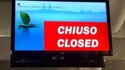 In diretta da Costa Favolosa – Giorno 1: l'arrivo a Venezia.