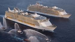 Royal Caribbean: a novembre un grande evento con Harmony, Allure e Oasis of the Seas per la prima volta insieme