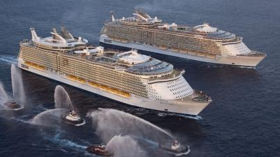 Top ten: le dieci navi da crociera più grandi al mondo!