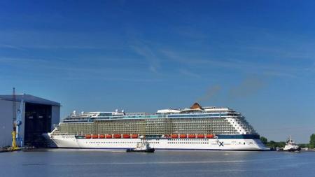 Esce dai cantieri Celebrity Reflection, nuova ammiraglia di Celebrity Cruises (Video)