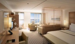 MS Europa 2, Veranda Suite, Hapag-Lloyd Cruises