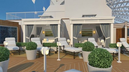Royal Princess: presentate le nuove aree The Sanctuary e Retreat Pool