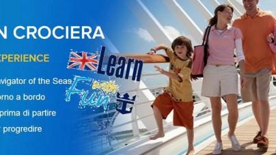 """Da Royal Caribbean International le nuove crociere """"Learn With Fun"""", per imparare l'inglese divertendosi in vacanza!"""