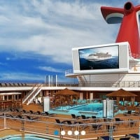 Beach Lido Pool, Carnival Sunshine