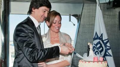 MSC Crociere: ogni anno celebrati a bordo oltre 4.380 matrimoni!