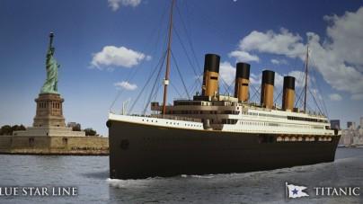 Blue Star Line: slitta al 2018 l'entrata in servizio del Titanic II