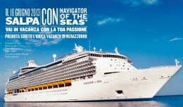 Crociera Nerazzurra, Royal Caribbean International
