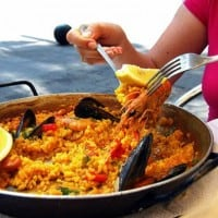 CRYSTAL CRUISES PAELLA
