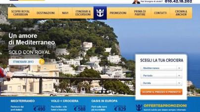 Da Royal Caribbean International la nuova versione mobile del sito web