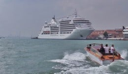 Silver Spirit, Silversea, a Venezia