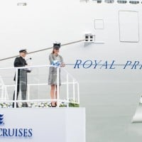 Royal Princess naming ceremony, Princess Cruises