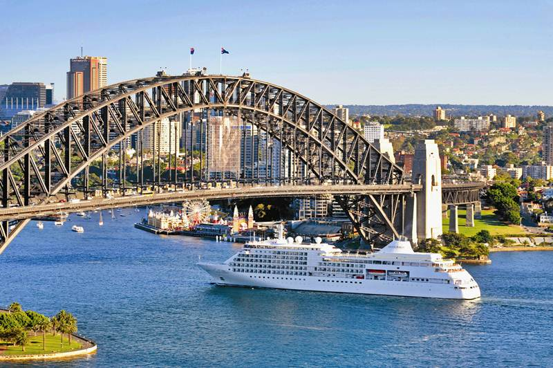 Silver Shadow, Silversea Cruises, Sidney