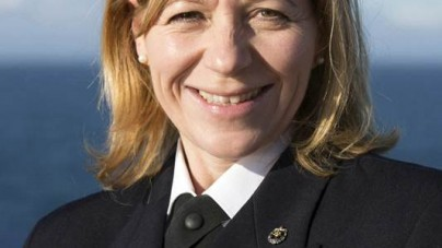 Margrith Ettlin, primo comandante donna alla guida di Silver Explorer
