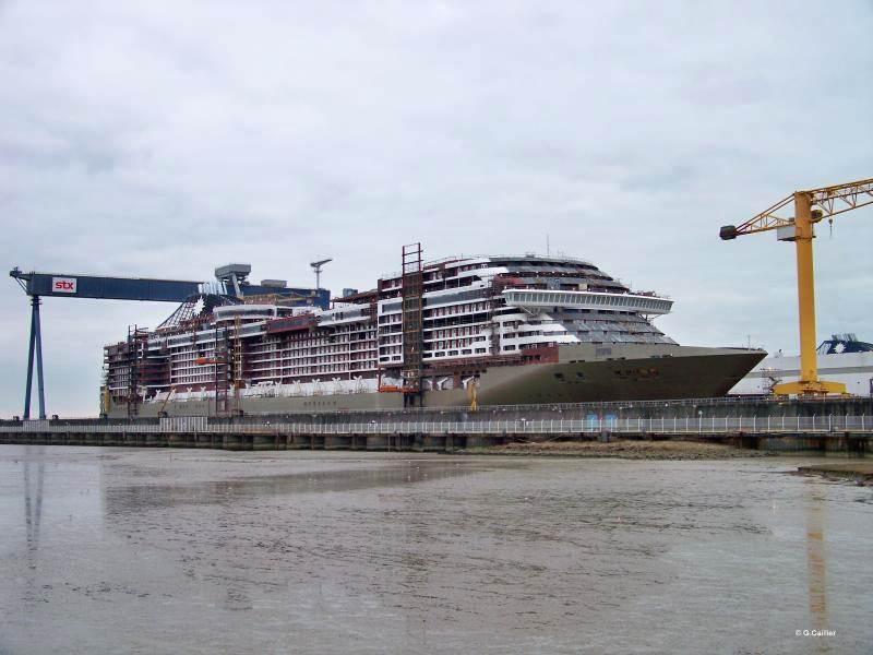 News sur la navale mondiale (les chantiers de constructions navales) - Page 6 MSC-Preziosa-MSC-Crociere-STX-France