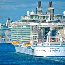 """La tempesta """"Cristobal"""" sulla rotta di due navi Royal Caribbean"""