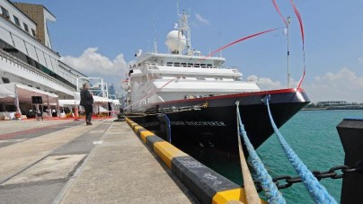 Silversea Expeditions: battezzata a Singapore la Silver Discoverer