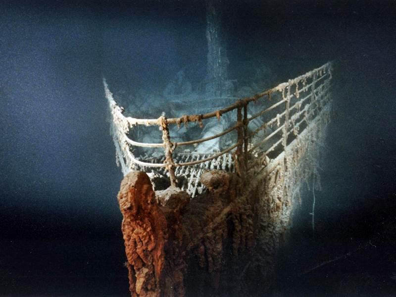 Titanic relitto