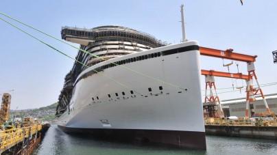 AIDA Cruises: in Giappone AIDAprima tocca per la prima volta il mare