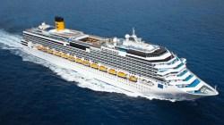 Allenamento a bordo di Costa Pacifica a Civitavecchia per la nazionale cantanti