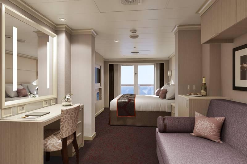 Hal cabine singole e per famiglie a bordo della nuova - Posizioni nuove a letto ...