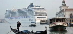 Un algoritmo fermerà il passaggio delle grandi navi a Venezia