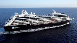 Azamara Journey entra in dry dock