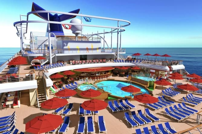 Carnival corporation partnership strategica anche con i for Nuove planimetrie per la costruzione di case