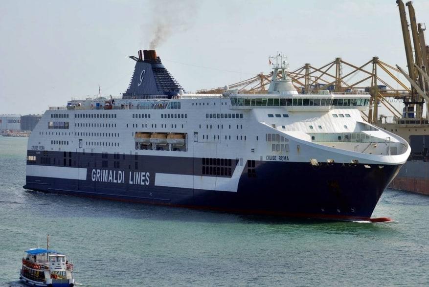 Grimaldi Lines, liberata la nave italiana ostaggio dei migranti