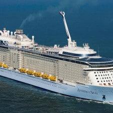 Rccl, la nuova Anthem of the Seas inaugura da La Spezia la stagione nel Mediterraneo