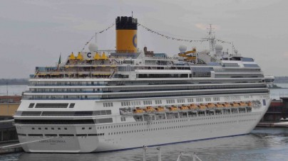 Costa Fascinosa: la Guardia Costiera di Porto Empedocle in soccorso di un passeggero della nave