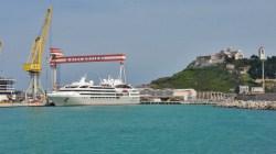 "Fincantieri: consegnata ad Ancona ""Le Lyrial"", la quarta nave extra lusso per Ponant"