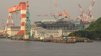 AIDAprima: dai cantieri Mitsubishi un nuovo ritardo nella consegna