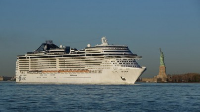 MSC Crociere: Maiden Call per MSC Divina a New York