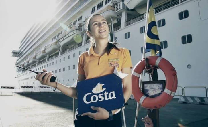 Costa Crociere cerca personale di bordo: 147 posti disponibili per otto nuovi corsi di formazione