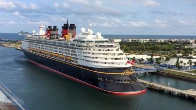 Porto di Salerno, lunedì il maiden call della Disney Magic