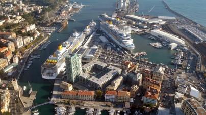 Savona, al via le opere per fondali del porto più profondi in previsione delle nuove maxi navi Costa