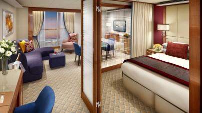 Da Seabourn i primi rendering delle suite a bordo della nuova Seabourn Encore