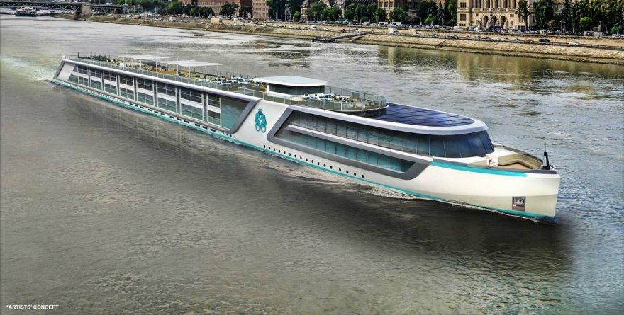 Crystal River Cruises: 5 nuove navi nella flotta. A luglio 2016 il debutto di Crystal Mozart