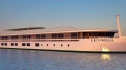 CroisiEurope: battezzata la Elbe Princesse, la prima nave appositamente costruita per il fiume Elba