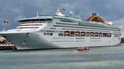 P&O Oceana a Genova, oltre 45 mila passeggeri durante la stagione 2015