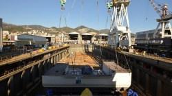 Fincantieri, al via i lavori in bacino per Silver Muse