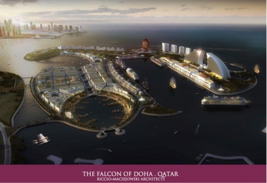 News generales croisiere et mer.. peut etre en traduc auto  - Page 12 The-Falcon-of-Doha-Qatar-877x603