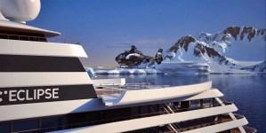 Scenic: consegnati alla compagnia gli elicotteri per il lussuoso yacht Scenic Eclipse