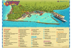 cast away cay map