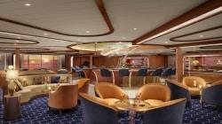 A bordo della nuova Seabourn Encore il panoramico Observation Bar