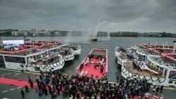 Viking River Cruises celebra ad Amsterdam il debutto di sei nuove navi