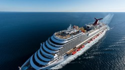 Carnival Vista completa le prove in mare. Il debutto il 1 maggio