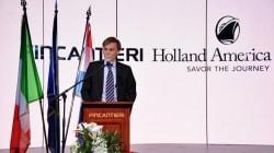 Fincantieri e Holland America Line celebrano a Marghera la consegna della nuova Koningsdam